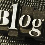 Открытие блога.