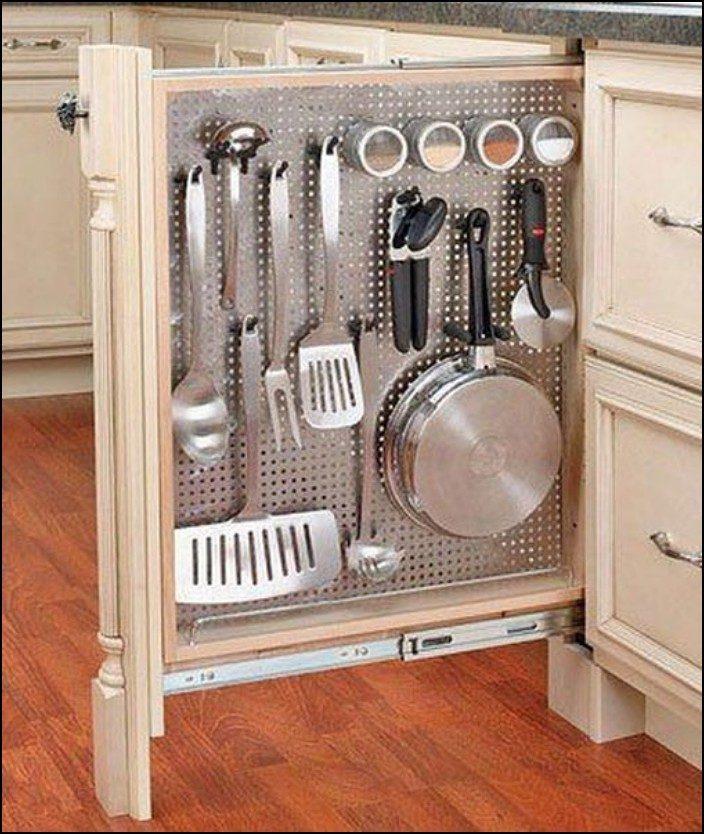 Как сделать встроенный шкаф в кухне