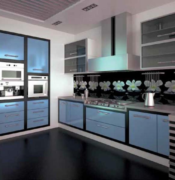 кухня с фартуком.35