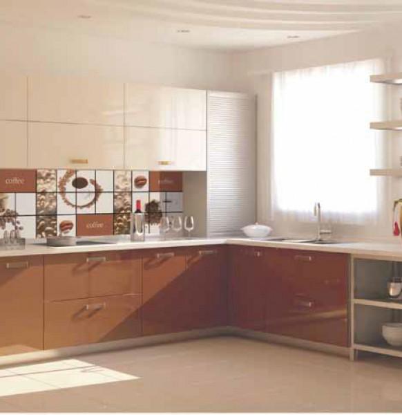 кухня с фартуком.51