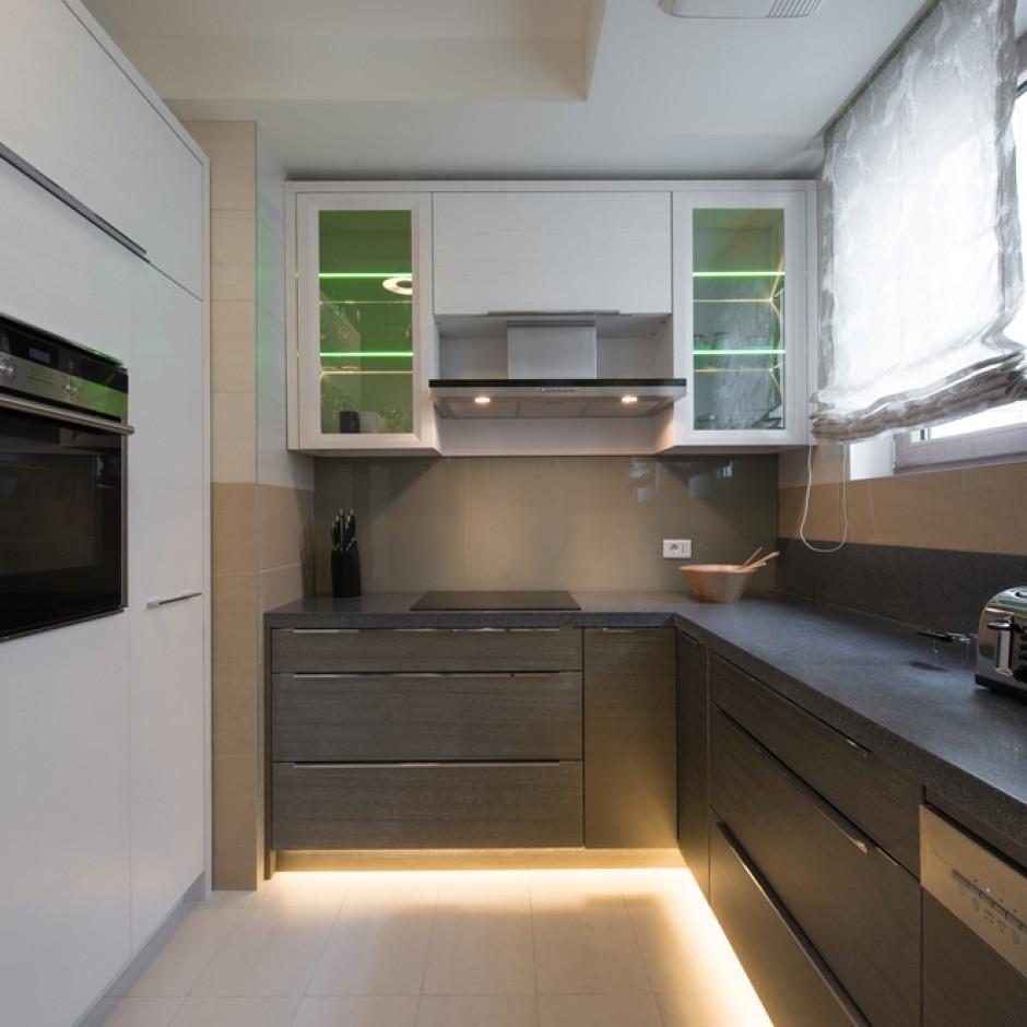 дизайн кухни вариант 19