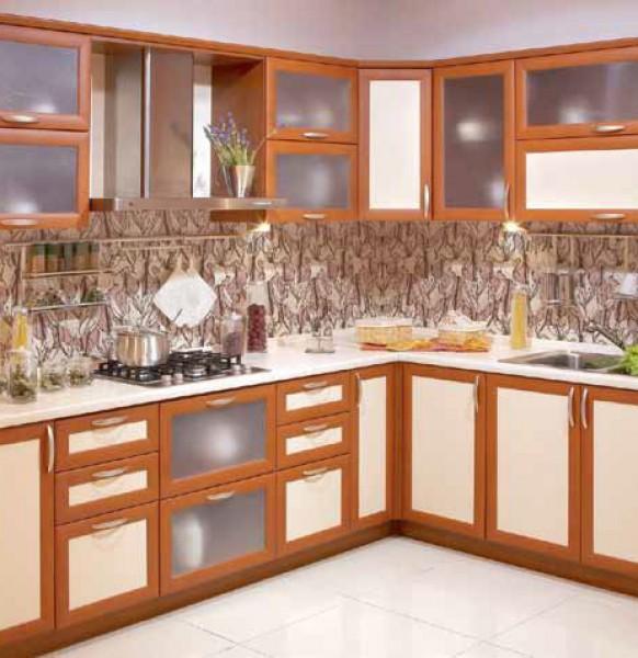 кухня с фартуком.13