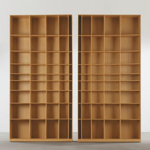 радиусный книжный шкаф 4