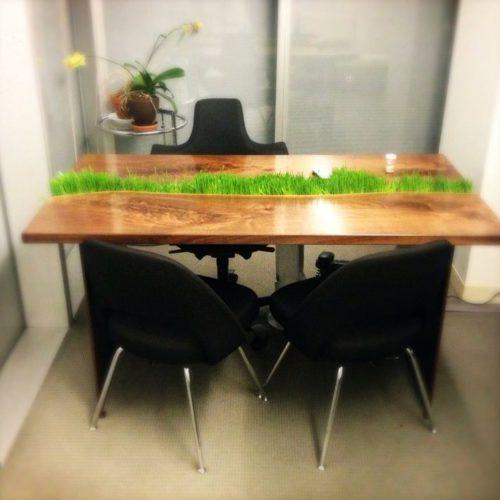 стол с травой.9