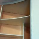 радиусный шкаф купе ваниль плюс фисташка 4
